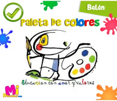 CENTRO EDUCATIVO PALETA DE COLORES
