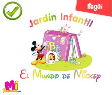 JARDÍN INFANTIL EL MUNDO DE MICKEY