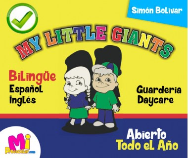 BILINGÜE MY LITTLE GIANTS