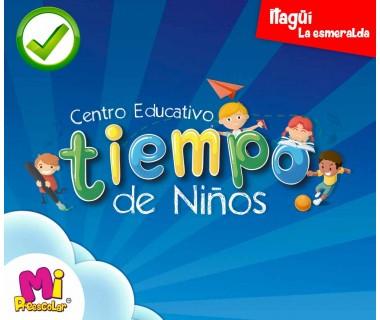 CENTRO EDUCATIVO TIEMPO DE NIÑOS